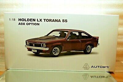 AU267 • Buy 1:18 Holden LX Torana SS A9X Hatchback -- Madeira Red -- Biante Last One Availab