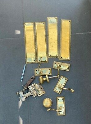 £16 • Buy Brass Finger Plates, Handles And Knobs