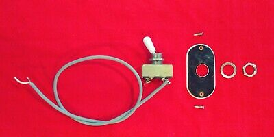 $ CDN73.94 • Buy Vintage 1965 Silvertone Scroll Hollow Bass Guitar Switch + Plate Parts JAPAN
