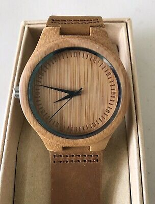 $ CDN31.23 • Buy REDEAR NOW & FOREVER NWB New Wood Watch Box Paperwork Extra Band &Tool Warranty