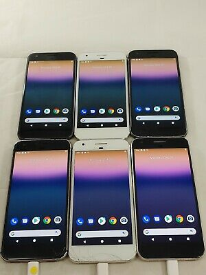 $ CDN191.11 • Buy Lot Of 6 Google Pixel 1 G-2PW4100 32GB AT&T GSM Unlocked Smartphone A059L