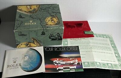 $ CDN40.80 • Buy Vintage Rolex Cellini Outer Paper Box Only With Warranty Paper Tag ,Oyster Books