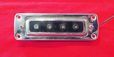 $ CDN174.19 • Buy Vintage 1965 Silvertone Violin Hollow Body Bass Guitar BRIDGE Pickup Japan