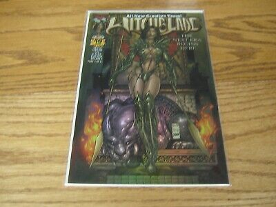 £21.46 • Buy WITCHBLADE #40 Dynamic Forces Exclusive Omni Chrome Cover COA RARE HTF