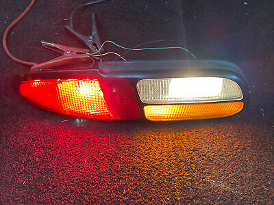 $159.99 • Buy 98-02 CHEVROLET CAMARO Tail Light Driver Left LH OEM With Amber Lens RS SS Z28