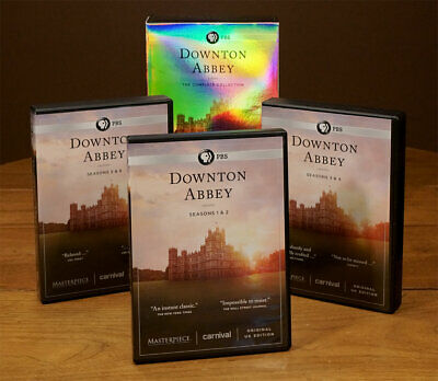 £21.72 • Buy DOWNTOWN ABBEY The Complete Collection Box Set 22 Discs VG