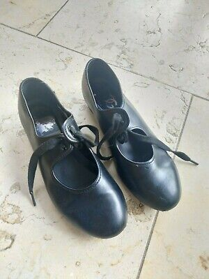 Tap Shoes Size 1 Black. From Dance Gear • 0.99£