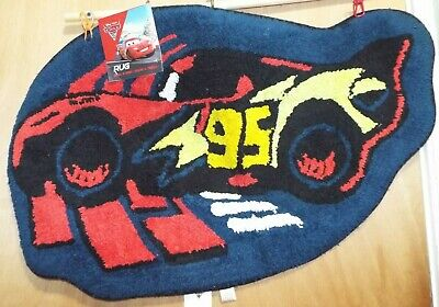 £9.38 • Buy Cars 2 Rug 20  X 30  By Disney Pixar 100% Cotton #56 New By Jay Franco
