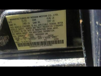 $66.52 • Buy Driver Tail Light Quarter Panel Mounted Fits 04-08 MAXIMA 712759