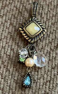 $ CDN3.75 • Buy Lia Sophia Pendant Slide Beads Dangle Multicolor