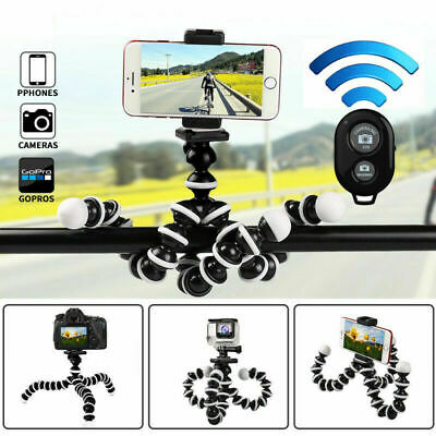 AU9.79 • Buy Universal Mobile Phone Holder Stand For Iphone Flexible Octopus Tripod Stand