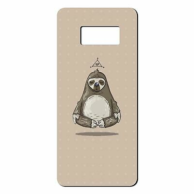 $ CDN11.92 • Buy For Samsung Galaxy S8 Silicone Case Funny Sloth Peace - S1681