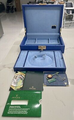 $ CDN969.31 • Buy Genuine Rolex President Crown Collection Watch Jewelry Box 51.00.01 COMPLETE SET
