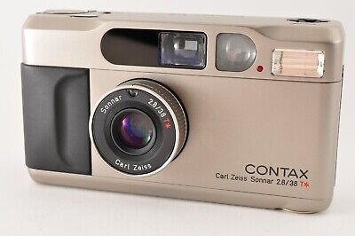 $ CDN1237.40 • Buy [Mint] CONTAX T2D T2 D Point & Shoot 35mm Film Camera W/ Data Back From Japan