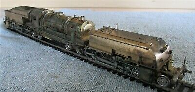 AU790 • Buy Brass NSWGR AD60 Class Beyer-Garratt Steam Locomotive, Working, Made In Japan HO