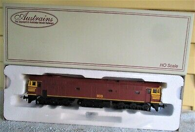 AU149 • Buy NSWGR 80 Class Diesel Locomotive 8019 In Original Tuscan Livery - Austrains HO