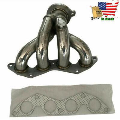 $46.90 • Buy Exhaust Manifold 1.5  / 2.25  Stainless Steel Header For Honda Civic 2001-05 EX