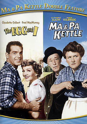 $11.95 • Buy Ma  Pa Kettle Double Feature: The Egg And I/Ma  Pa Kettle (DVD, 2015)