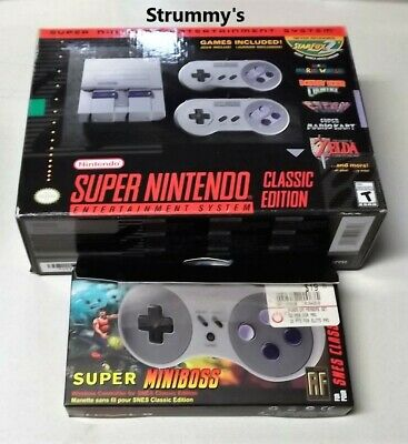 $ CDN324.94 • Buy SNES Mini Classic Edition Authentic Used Modded 726 Games + Wireless Controller!