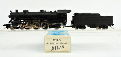 AU41.36 • Buy Atlas / Rivarossi N Scale 2115 Unlettered 4-6-2 Steam Engine And Tender