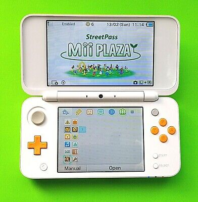 AU179.99 • Buy 'New' Nintendo 2DS XL White Orange Game Console Very Good Condition Used