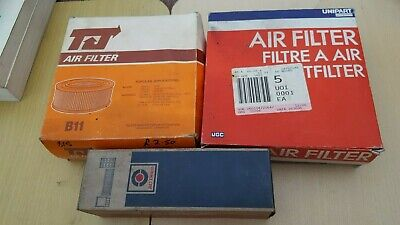 ROVER P6 2000/2200 AIR FILTERS X 3 New Old Stock Various Types • 12£