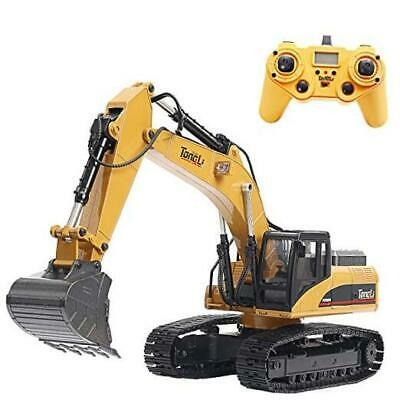 1580 1:14 Scale All Metal RC Excavator Toy For Adults Remote Control Digger  • 556.49£