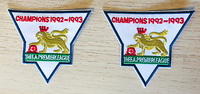 £9 • Buy Premier League Champions 92-93 Patches Sleeve Badges Embroidered 1992 1993