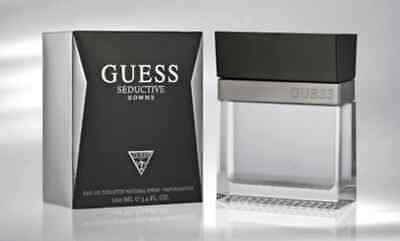 GUESS SEDUCTIVE HOMME Eau De Toilette SPRAY 1.7 OZ NEW ~ Sealed ~ From USA Gift • 32.05£
