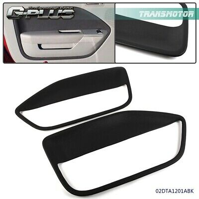 $67.96 • Buy Front Left & Right Side Replacement Door Panel Insert For 2005-2009 Ford Mustang