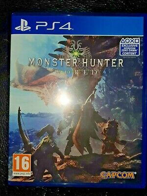 AU18.03 • Buy MONSTER HUNTER: WORLD - Sony PS4 Game
