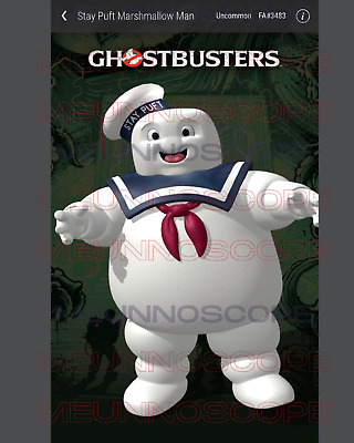 $600 • Buy Veve Uncommon NFT Ghostbusters Staypuff FA#3483 1st Edition