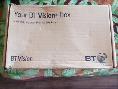 BT Vision+ Hd Box With Remote Control And Cables • 45£
