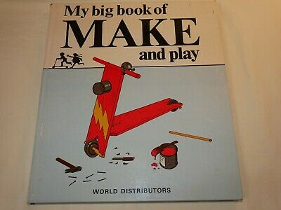 £6.99 • Buy My Big Book Of Make & Play - 33 Ideas To Make - Speedway, Scooter, Kite