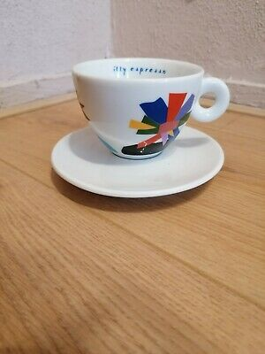 £25.51 • Buy ILLY COLLECTION CAPPUCCINO BAR TASSE  CUP 1999 Marco Lodola