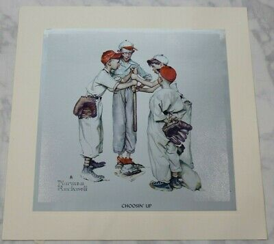 $ CDN37.58 • Buy Vintage Norman Rockwell Sporting Boys Foil Etch Prints, Complete Set Of 4 Sports