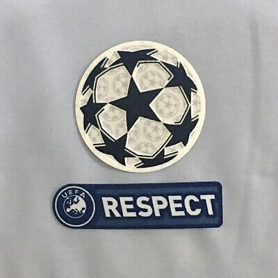 £8 • Buy UEFA Champions League Star Ball 2021 & RESPECT 2011/12 Blue Sleeve Patch / Badge