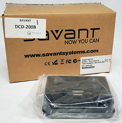 Savant Desktop Charging Dock DCD-200B-00 Apple IPod Classic IPhone 1st 2nd Gen • 94.57£
