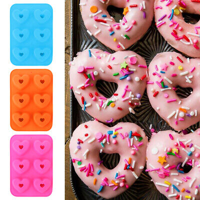 AU8.42 • Buy Doughnut Pastry Tools Donut Pan Baking Tray Baking Pans Silicone Donut Mold