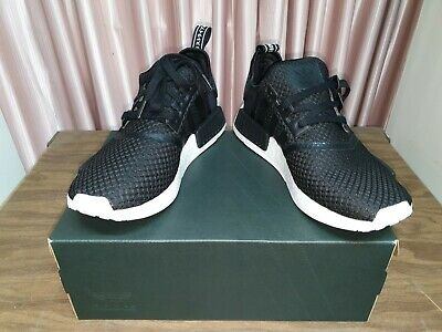 AU130 • Buy Adidas NMD R1 Mens Shoes Size US 10   Black White Sneakers
