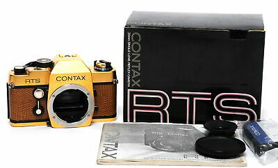 $ CDN1798.60 • Buy Contax RTS Gold Body NEW Boxed! NOT EDITION!