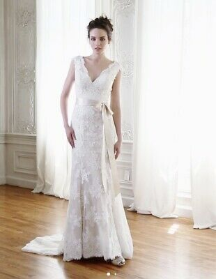 £150 • Buy Maggie Sottero Lace Wedding Dress Size 8