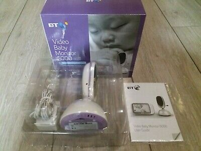 View Details BT Baby Video Monitor 6000 Additional Camera Baby Unit & Power Supply - 5000. • 69.95£