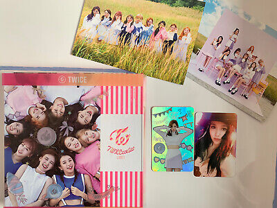 Twice Twicecoaster Lane 1 With Mina Photocards And Postcards KPOP • 16.75£