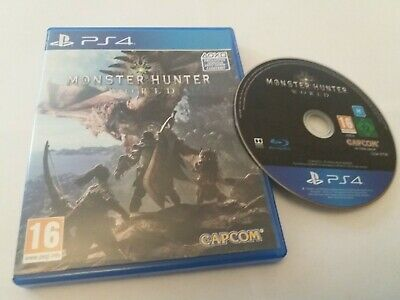 AU18 • Buy Monster Hunter World - UK Sony PS4 Game Mint Condition