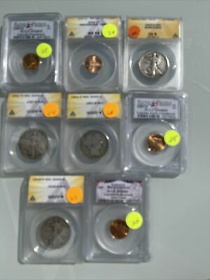 AU39.33 • Buy Certified US Coins ANACS & Or PCGS No Reserve $200+ Red Book Value; C76