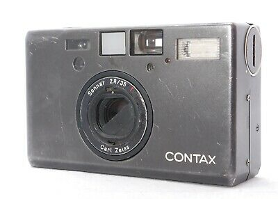 $ CDN1002.43 • Buy 【AS-IS】 CONTAX T3 BLACK Single Teeth Point & Shoot Film Camera From Japan #P29