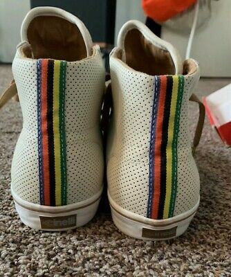 AU58.99 • Buy RARE DVS X Cinelli Collab Luster High Size 11 White Skate & Cycling Shoes
