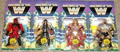 $99.99 • Buy Masters Of The WWE Universe Wave 6 SET OF 4 Goldberg Steph Ultimate Warrior Kane