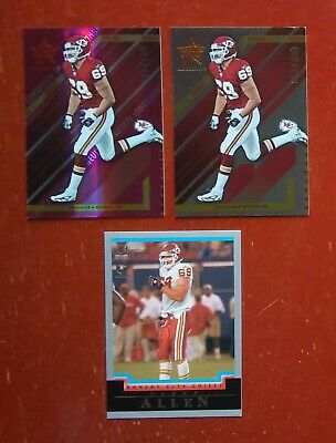 $3.75 • Buy Lot Of 3 2004 Jared Allen Rookie Cards Leaf Rookies & Stars (Future HOF) Rare RC